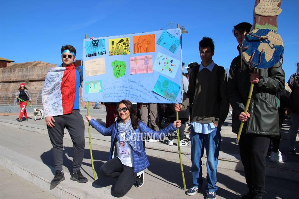 Sciopero per il clima studenti