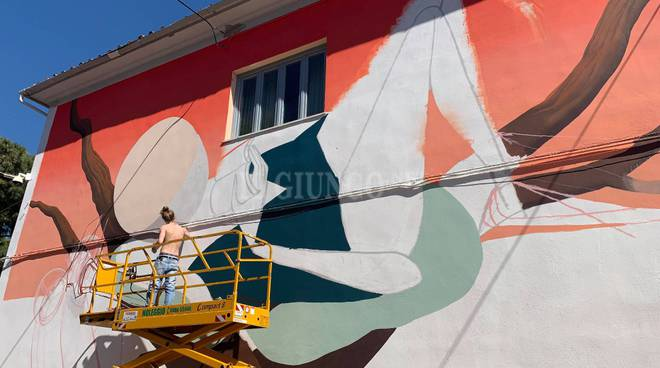 Urban art city: murales all'Ilva