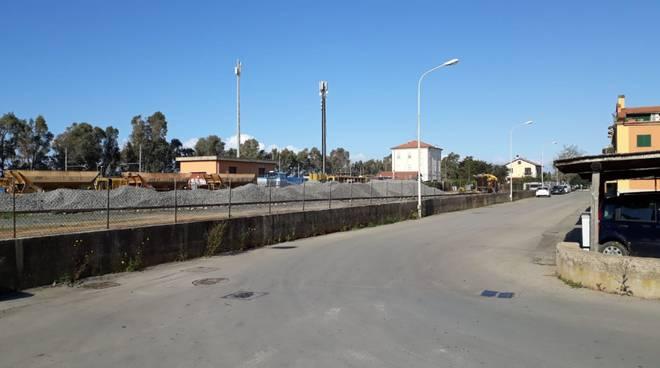 cantiere stazione Capalbio Scalo