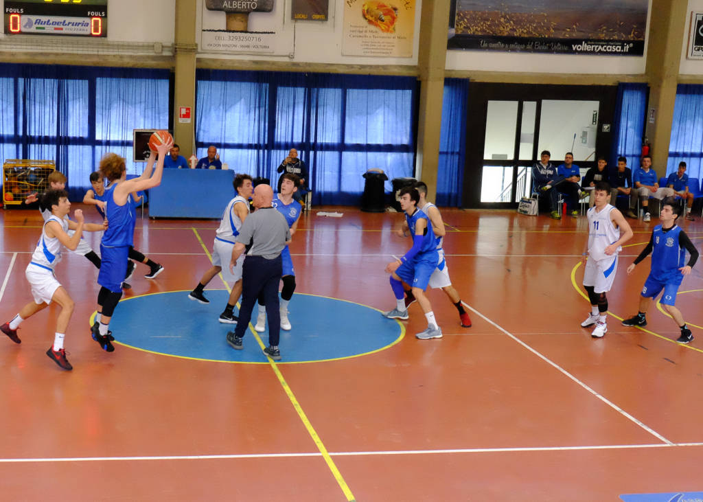 Follonica Basket Under 18 - gara Coppa Toscana