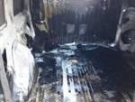 furgone bruciato