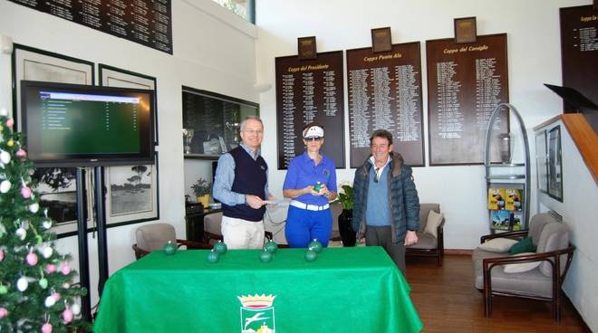 Premiazioni Golf Club Punta Ala Circuito Green Card