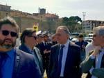 Rossi a Talamone escavo porto