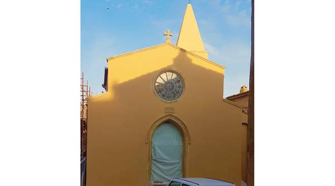 San Nicola restauro Capalbio