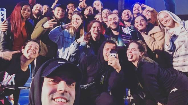 Team hip hop coi grossetani Buonfiglio e Pingitore