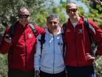 Triathlon Grosseto - Biondi, Caprini. Rosini (foto E. Caprini)
