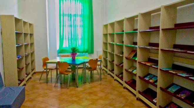Biblioteca scuola S.Fiora