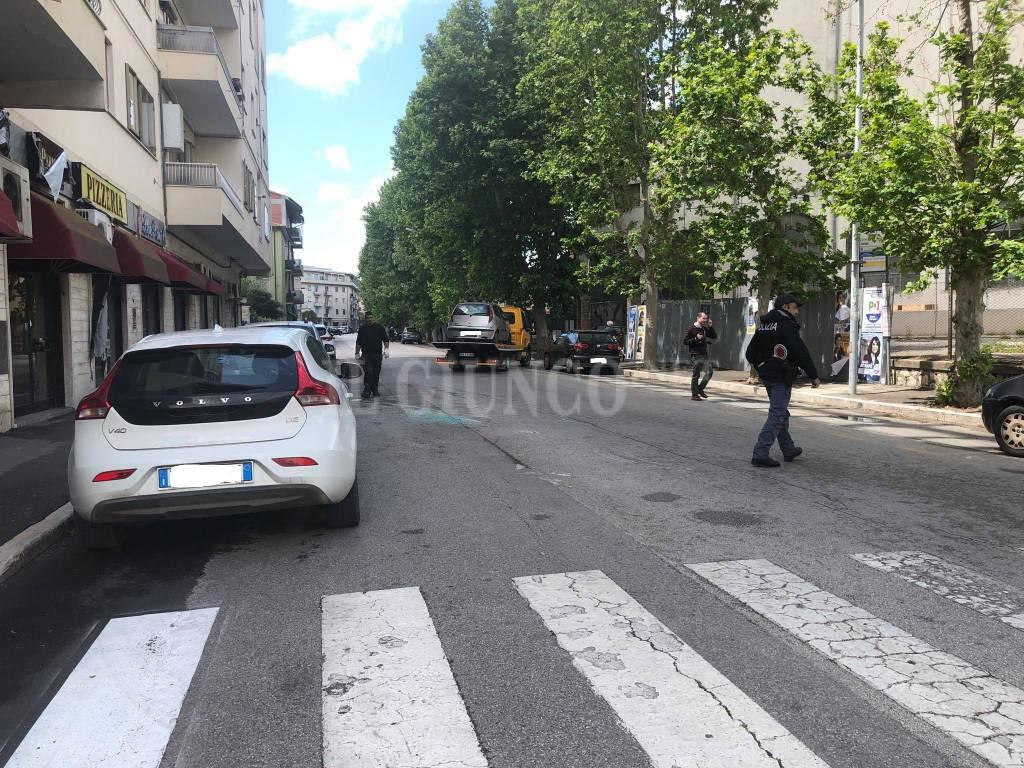 incidente via fabio massimo 18 maggio 2019