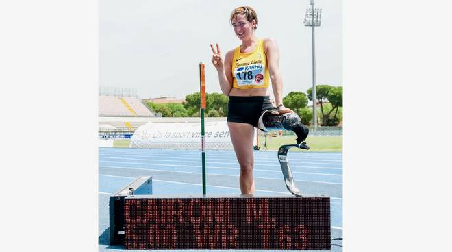 Atletica paralimpica 2019 Martina Caironi