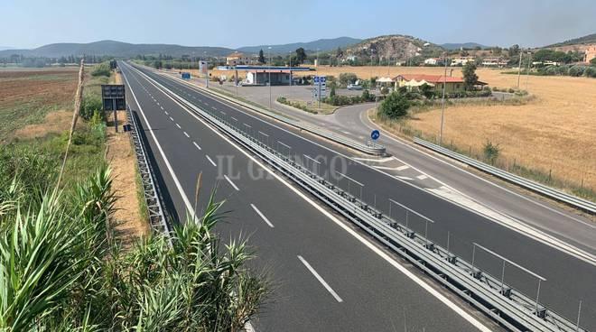 superstrada quattro corsie Senese