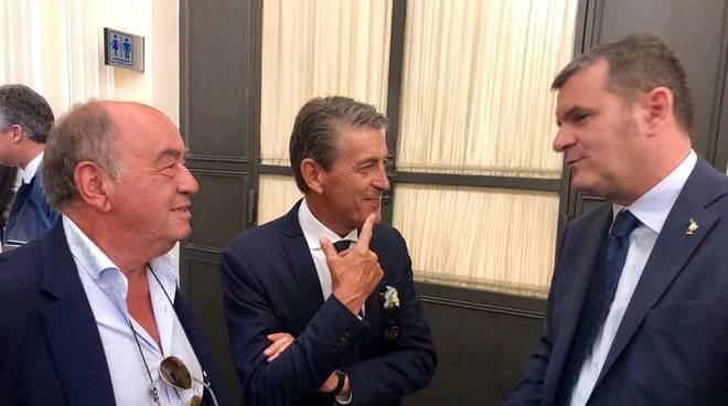 marcello padroni e Gian Marco Centinaio - Acqua Village incontra ministro turismo