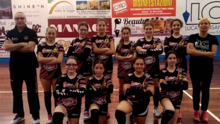 Pallavolo Grosseto Under 12 rossa