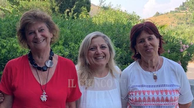 Patrizia Sailmoiraghi Elena Guarino Bora Lapaglia Soroptimist Costa d'argento