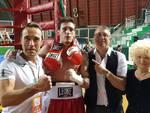 Simone Bicchi conti cavini boxe