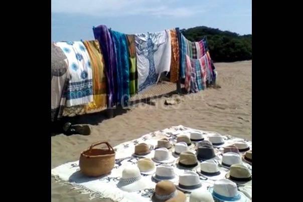 venditori spiaggia