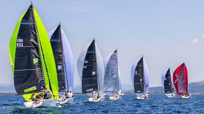 campionato nazionale Open dei Melges 24 vela