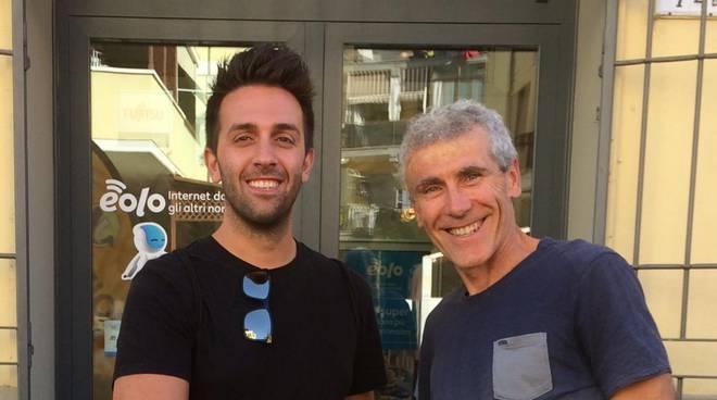 Marco Rosignoli ha siglato l'accordo con Lorenzo Massai