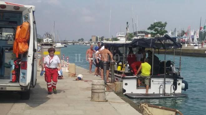 sub soccorso al porto da Cri