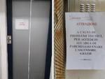 ascensore fuori servizio