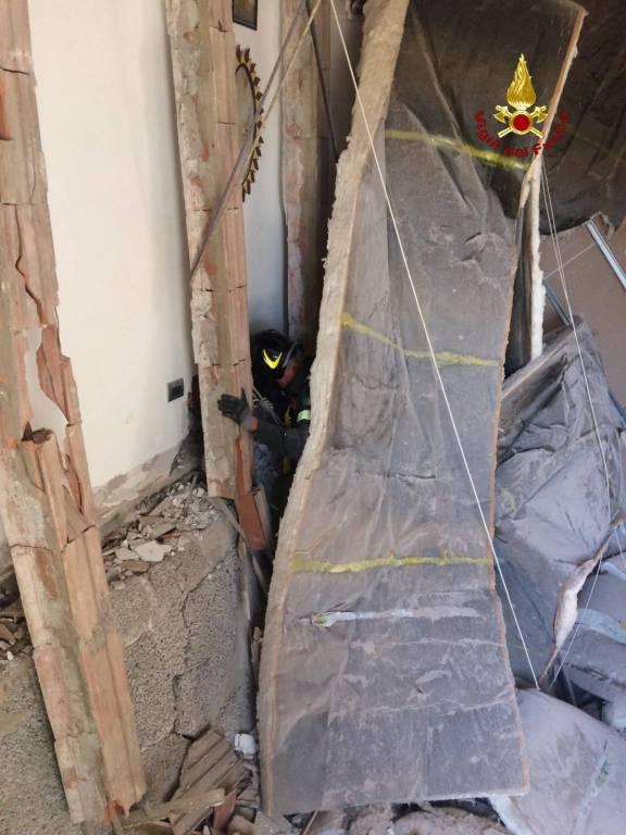Crollo in via Cimabue