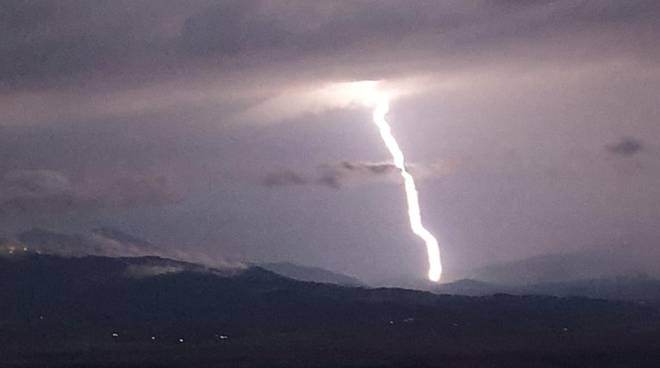 Maltempo Temporali PIoggia Allerta meteo