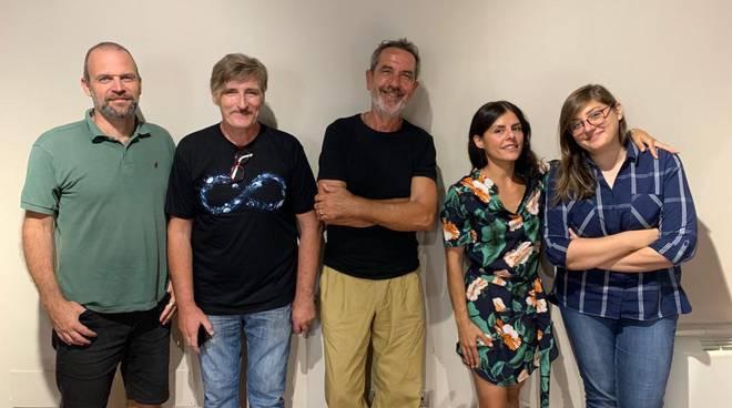 Mauro Papa, Stefano Corti, Giorgio Zorcù  Giada Breschi e Mara Pezzopane
