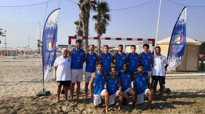 Nazionale maschile di Beach Handball - Lorenzo Bacci