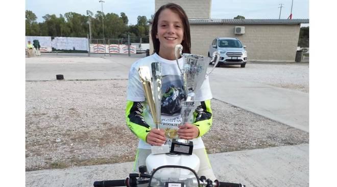 Andrea Ferrini campione moto 160 cc 2019