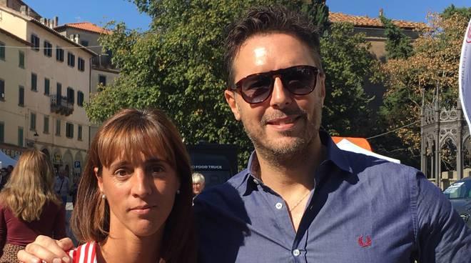 Fabrizio Rossi e Guendalina Amati