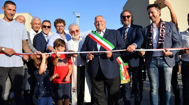 Inaugurazione centro sportivo Grifone