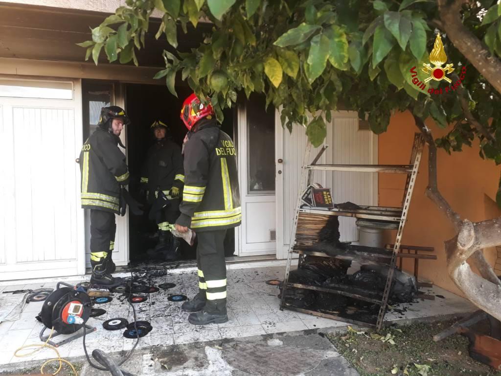 incendio casa castiglione della pescaia 6 settembre 2019