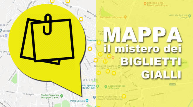 Mappa Biglietti Gialli 2019