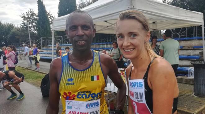 Nshimirimana e Stankiewicz - Aipamm Run 2019