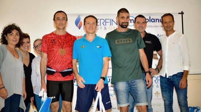 Premiazioni Trail Parco della Maremma 2019