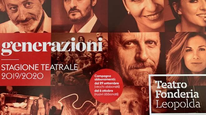 Stagione Teatrale 2019 Generazioni