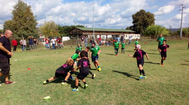 Golfo Rugby Under 10 concentramento 2019