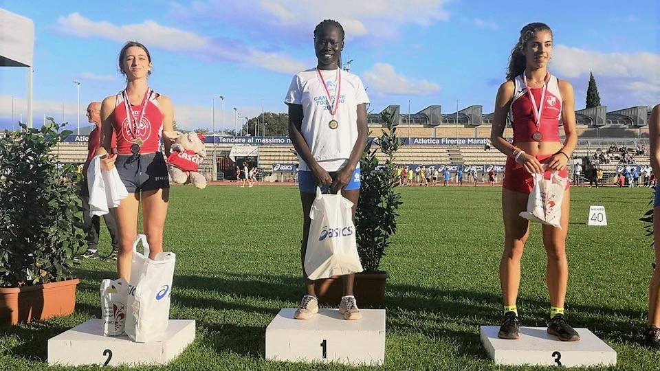 Atletica Follonica - Derartu Abbott campionessa regionale 2019