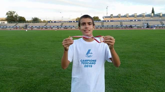 Atletica Grosseto - Alessandro Duchini campione regionale 2019