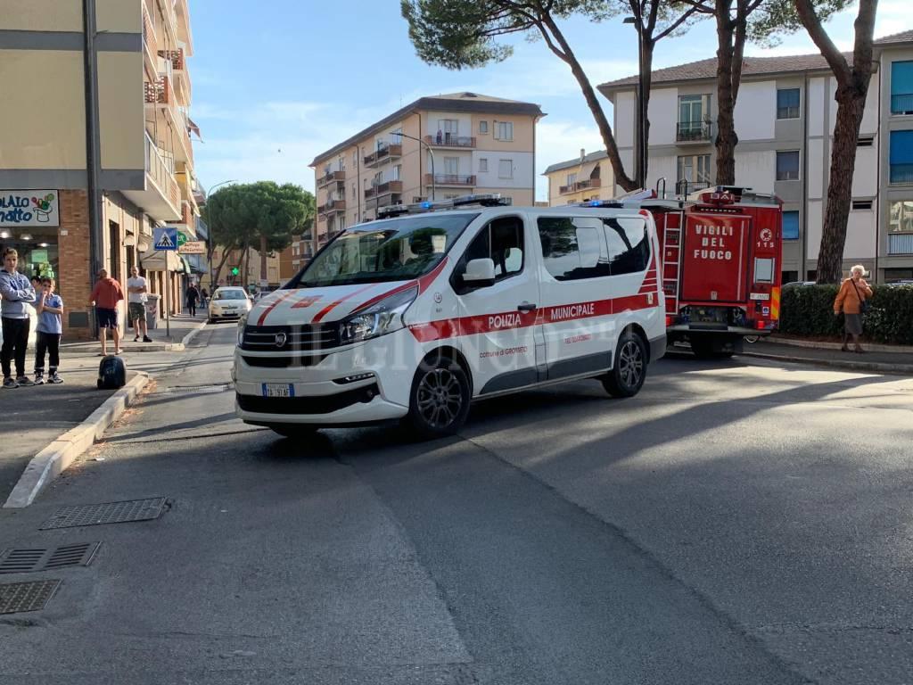 auto scooter via Giusti