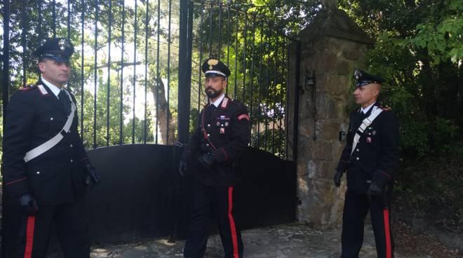 carabinieri - tentato furto roccatede ott 2019