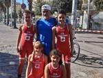 Casini, Saccocci, Fatos e Di Cosimo al Trofeo Coni Kinder