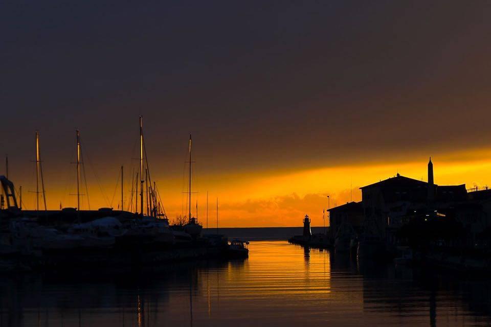 Castiglione della Pescaia tramonto