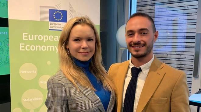 Daniele Lampoglia e Zuzana Dutkova