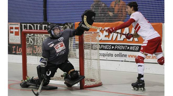 L'Edilfox Circolo Pattinatori asfalta l'Hockey Bassano all'impianto di via Mercurio