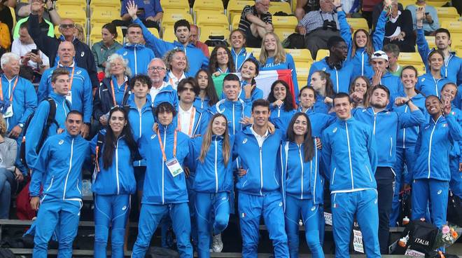 Raduno atletica 2019 Azzurrini Under 20
