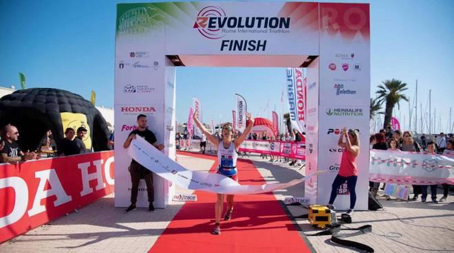 Triathlon Grosseto Serena Perin prima ad Ostia
