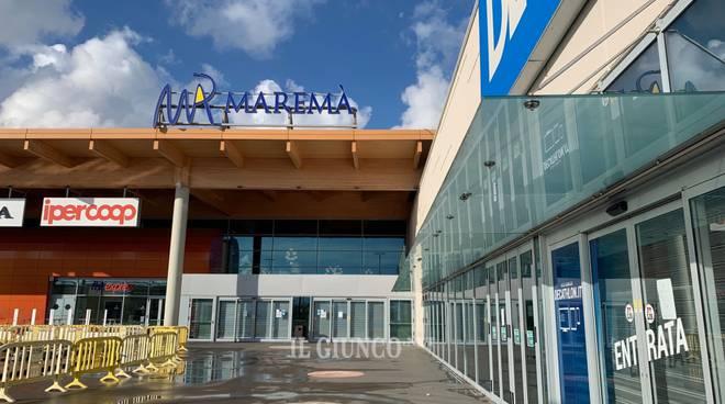 Centro commerciale Maremà chiuso novembre 2019