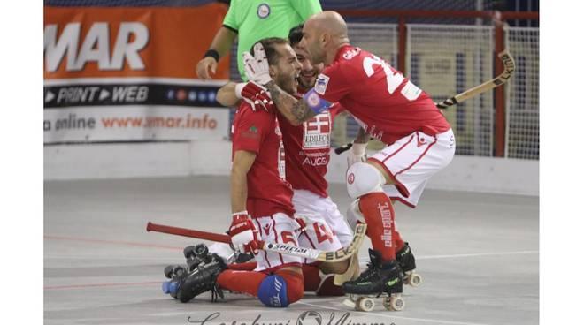 Circolo Pattinatori-Modena 3-3 (foto Casaburi)