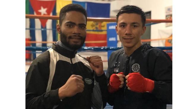 Eryilmaz e Garcia Pozo Fight Gym