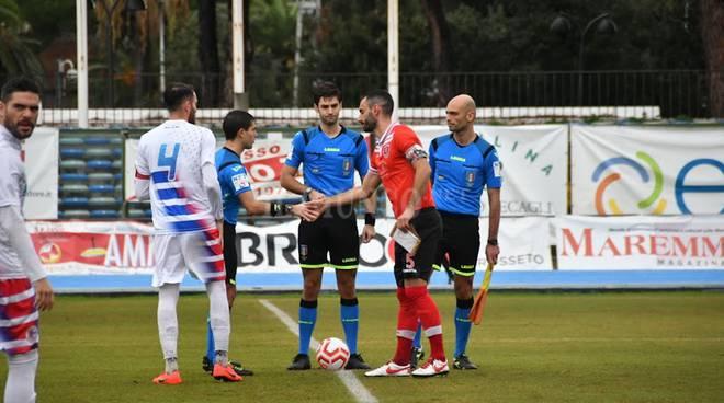 Grosseto-Follonica Gavorrano 1-1 (foto di Paolo Orlando)